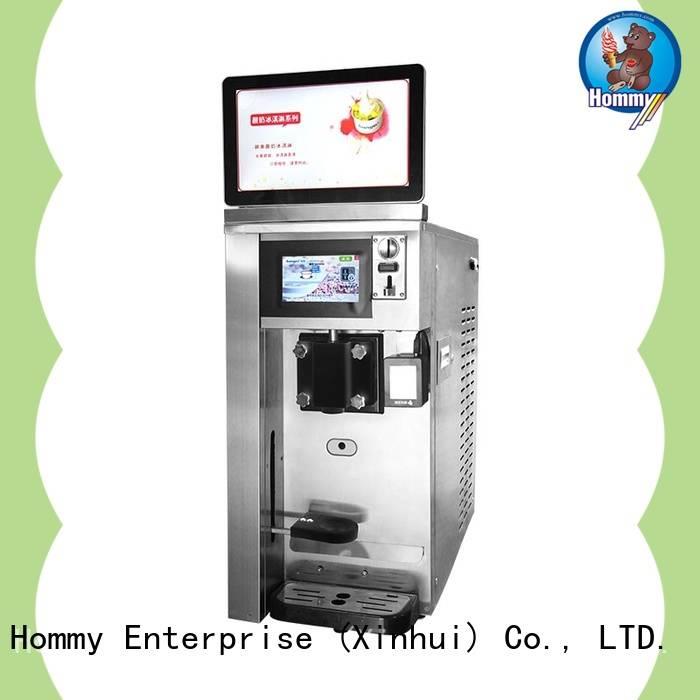 Hommy icecream vending machine high-tech enterprise for hotels