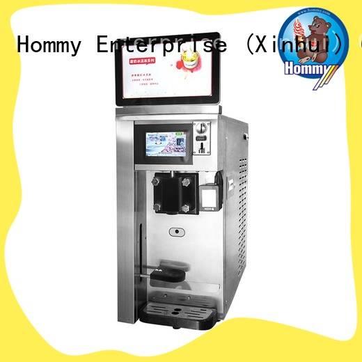 Hommy quality assurance frozen yogurt vending machine supplier for beverage stores