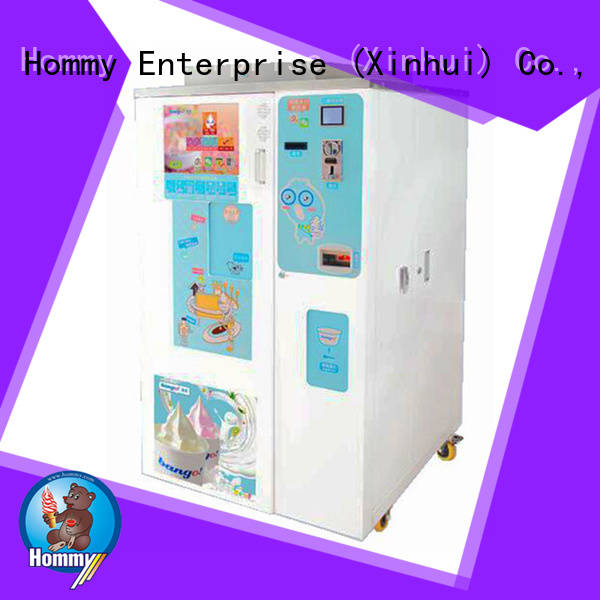 Hommy quality assurance vending machine supplier wholesale for beverage stores