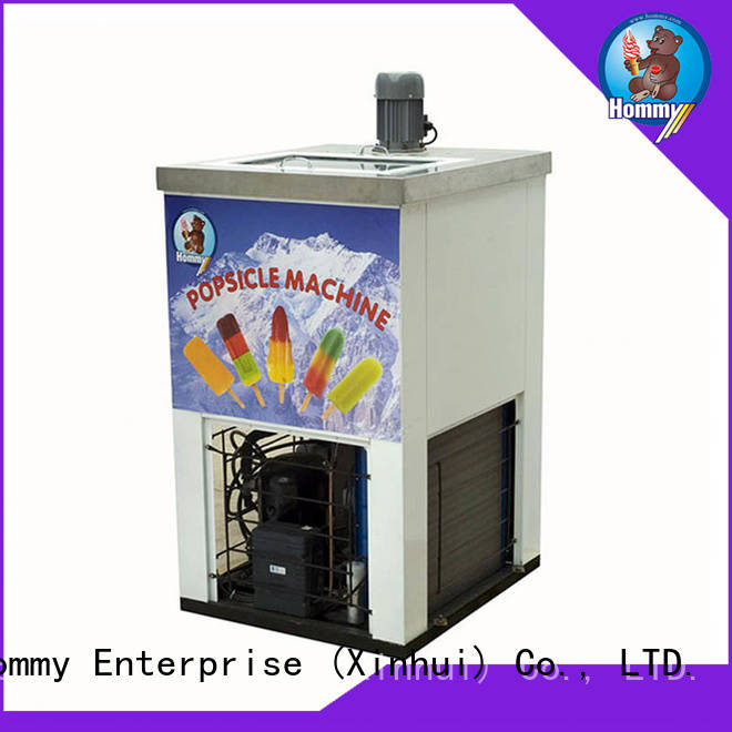 high quality popsicle equipment manufacturer Hommy