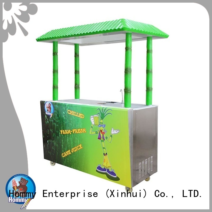 Hommy revolutionary sugarcane juice machine manufacturers wholesale for snack bar