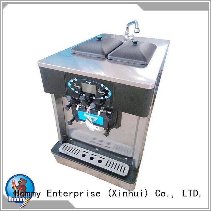 automatic commercial frozen yogurt making machine manufacturer for smoothie shops Hommy