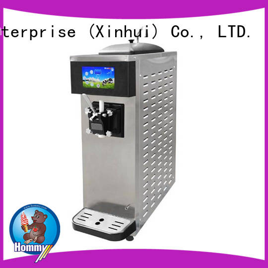 Hommy commercial ice cream maker machine wholesale for snack bar