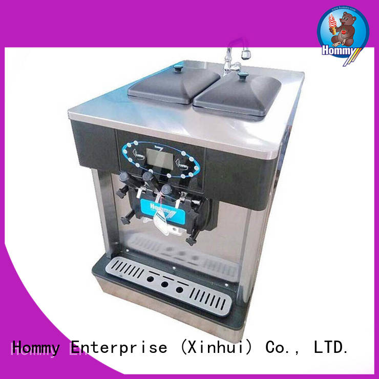 Hommy automatic cheap ice cream machine trendy designs for smoothie shops