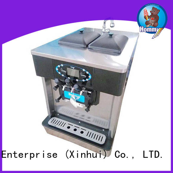 Hommy hm706 ice cream maker machine renovation solutions for smoothie shops