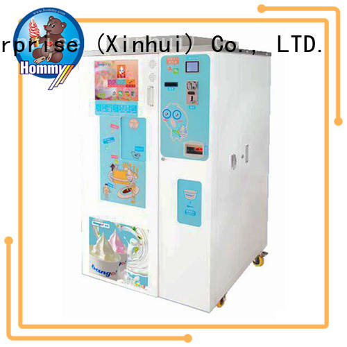 automatic icecream vending machine manufacturer for restaurants Hommy