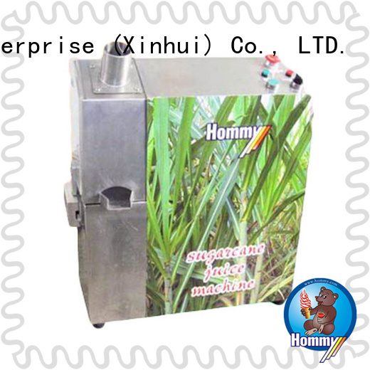 unreserved service sugarcane juice machine manufacturers wholesale for food shop Hommy
