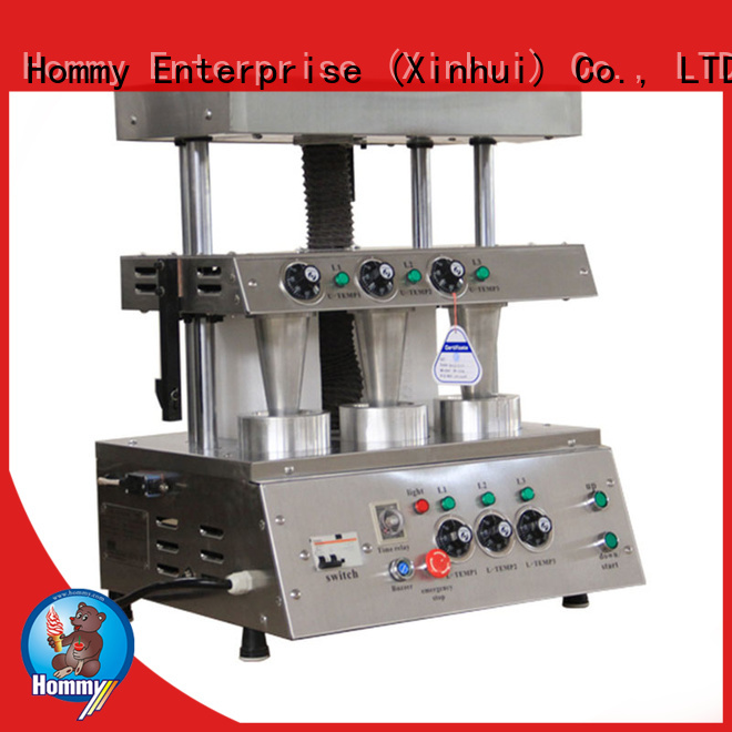 new type rotating pizza cone oven famous brand for ice cream shops Hommy