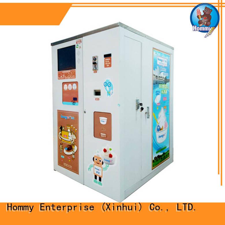 Hommy unbeatable price ice cream vending machine manufacturer for beverage stores