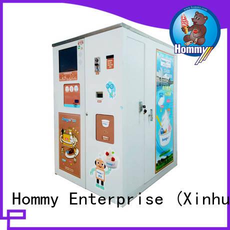 Hommy most popular custom vending machine high-tech enterprise for beverage stores