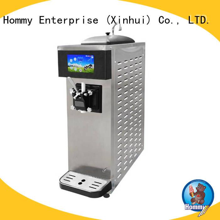 Hommy commercial soft serve ice cream machine supplier for supermarket