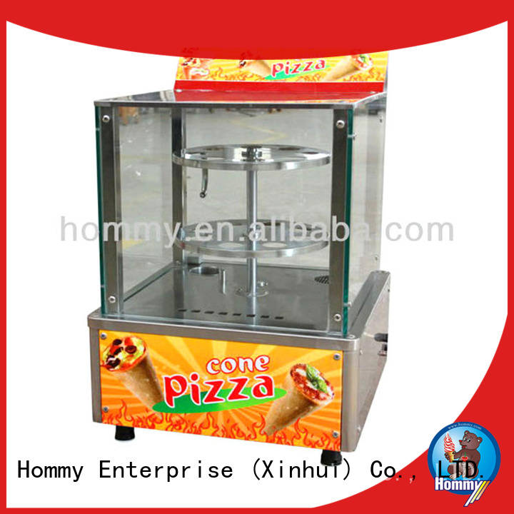 Hommy cone pizza machine for sale supplier for ice cream shops Hommy