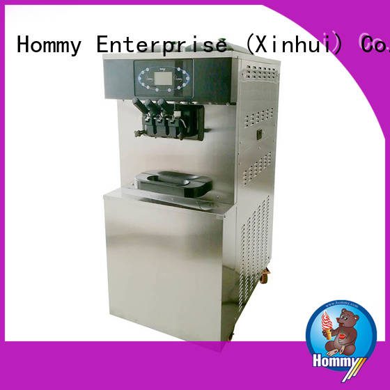 Hommy strict inspection ice cream machine for sale supplier for smoothie shops