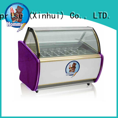 Hommy multifunctional ice cream display freezer personalized for display ice cream
