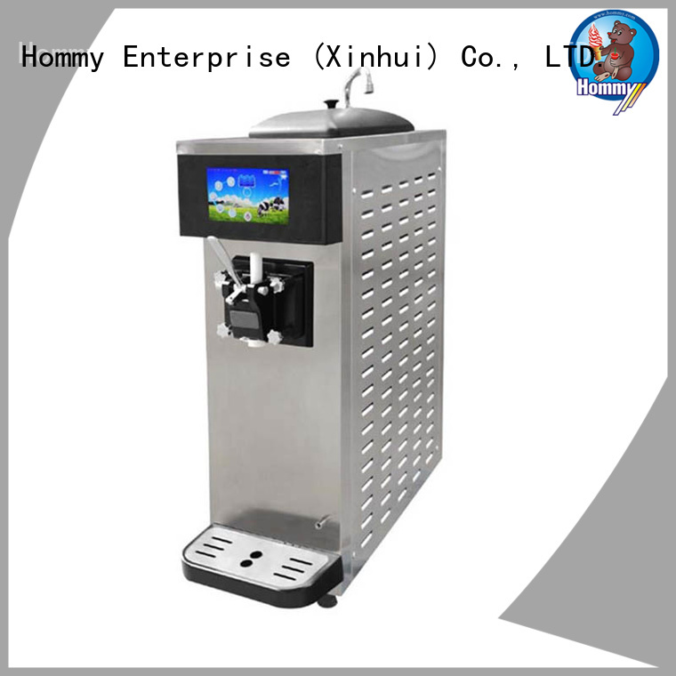 Hommy commercial soft serve ice cream machine supplier for food shop