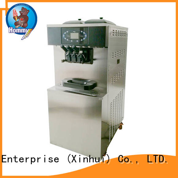 Hommy competitive price professional ice cream machine wholesale for ice cream shops