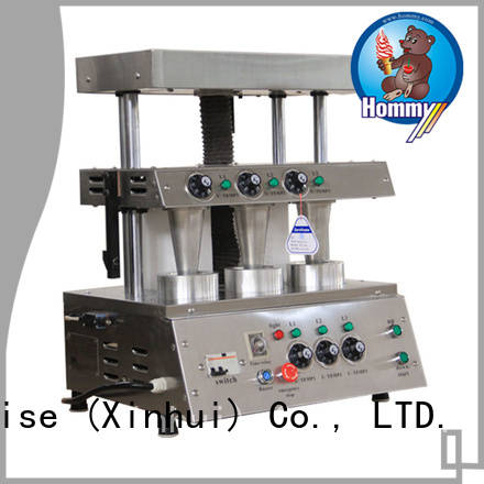 Hommy compact structure pizza cone machine manufacturer for store