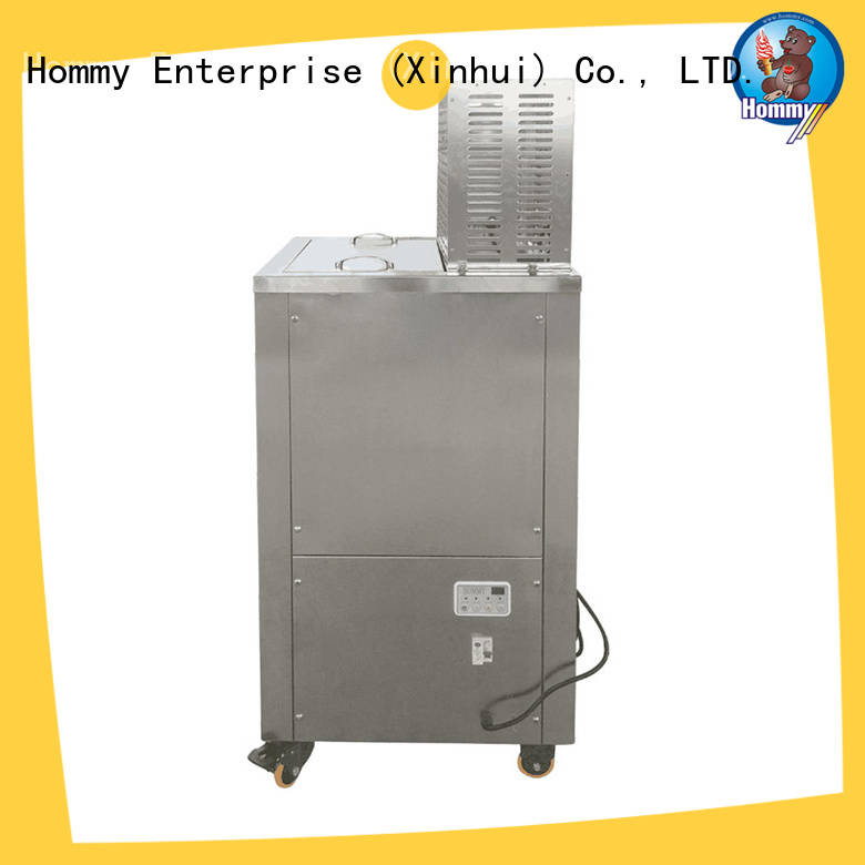 Hommy CE approved popsicle making machine manufacturer