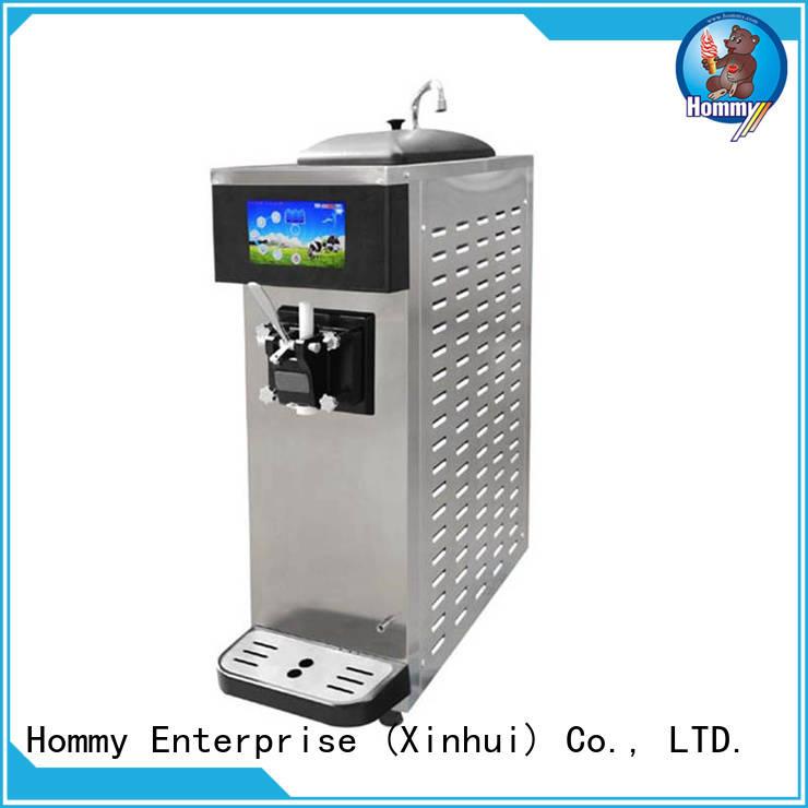 Hommy ice cream maker machine supplier for supermarket