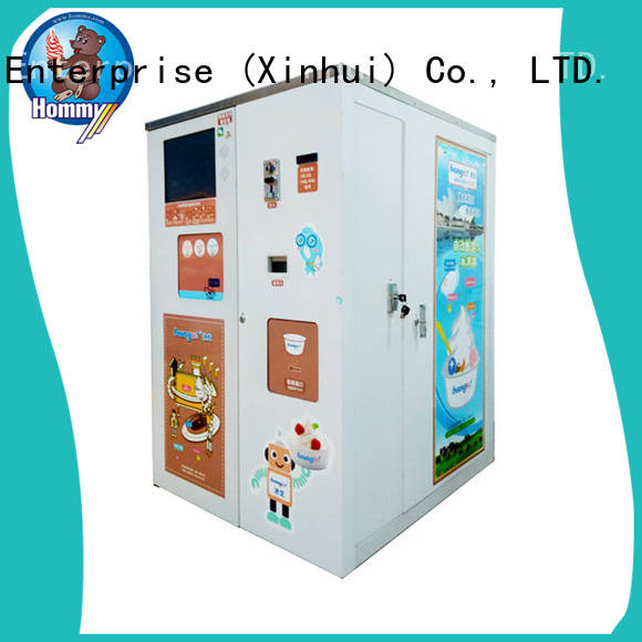 Hommy most popular automatic vending machine manufacturer for hotels