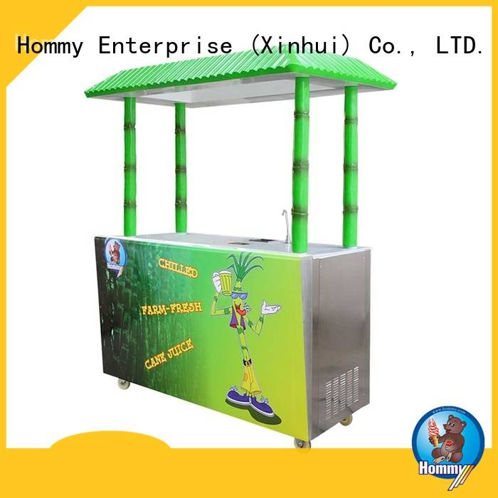 Hommy professional sugarcane machine manufacturer for food shop