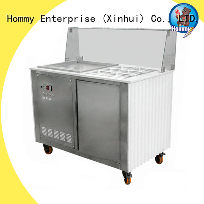durable ice cream roll machine low-temperature effect supplier for outdoor