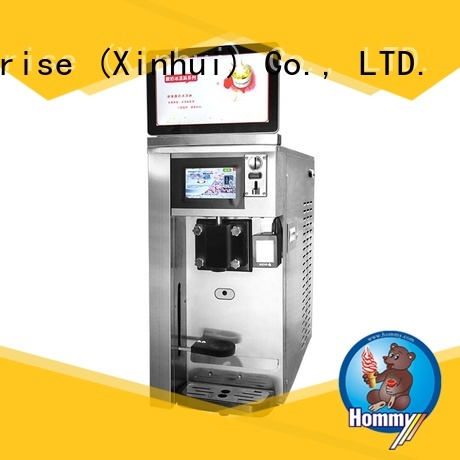 Vending milk shake machine