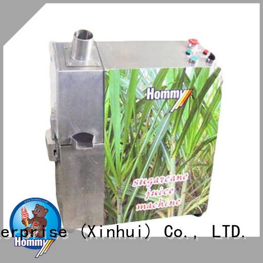 Hommy new sugar cane juice extractor machines supplier for supermarket
