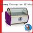 Hommy multifunctional ice cream display cabinet suppliers storage refrigerator for supermarket