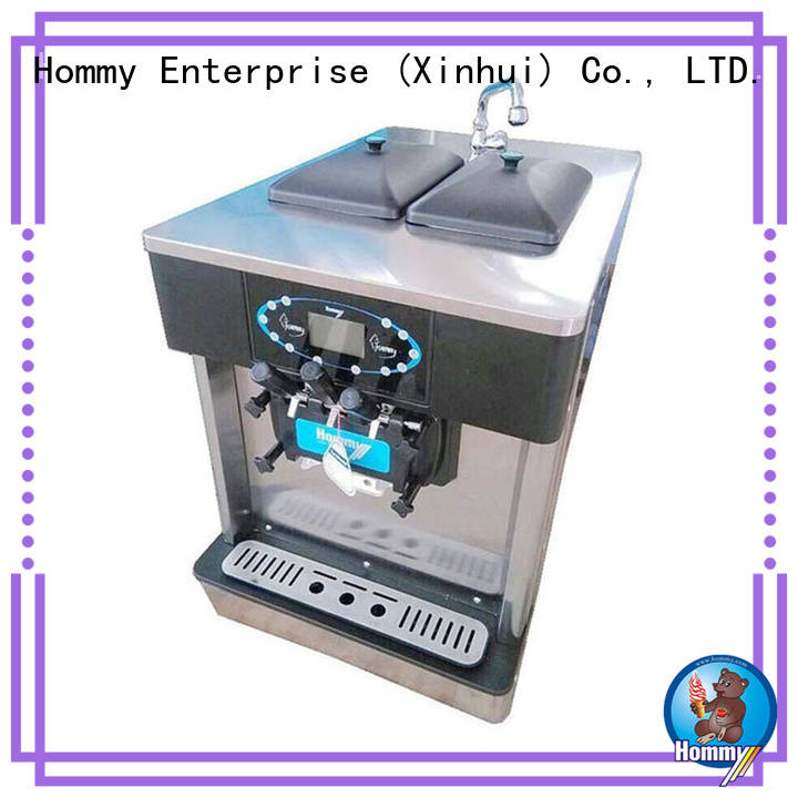 Hommy directly factory price ice cream machine for sale trendy designs for restaurants