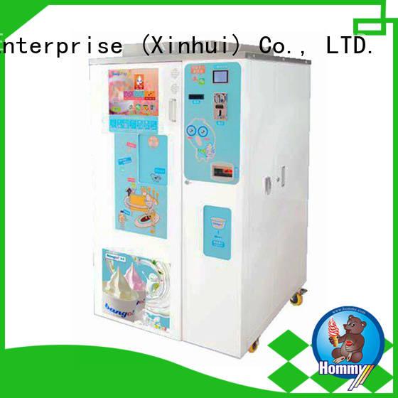Hommy top icecream vending machine manufacturer for beverage stores