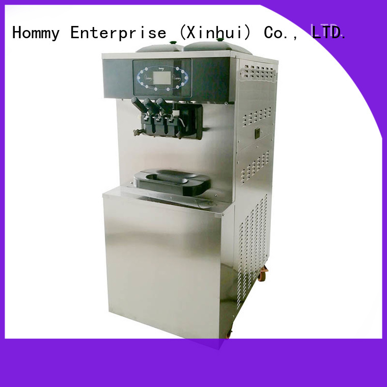 Hommy directly factory price commercial ice cream machine renovation solutions for restaurants