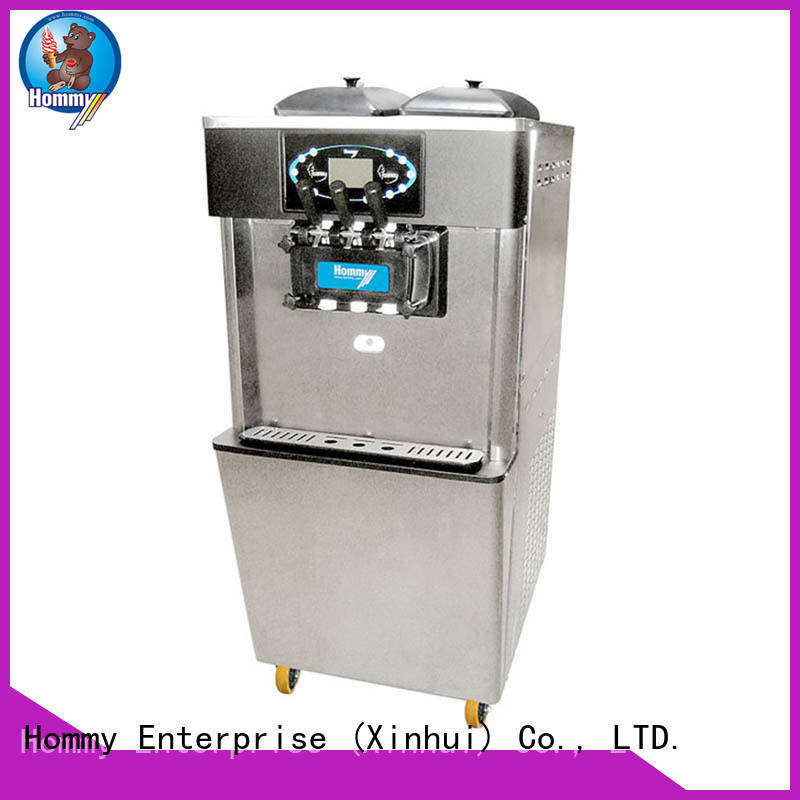 hm701 soft ice cream mixer wholesale for snack bar