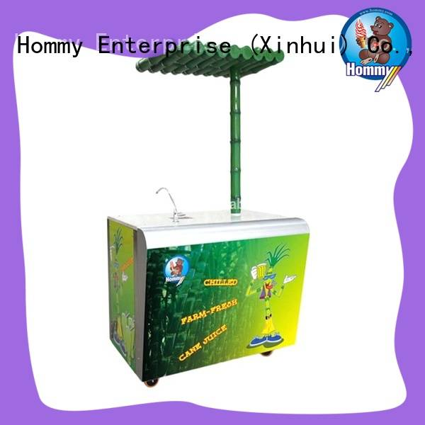 Hommy unrivaled quality sugarcane juice extractor revolutionary for snack bar