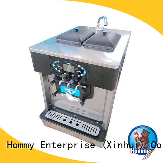 Hommy directly factory price commercial ice cream machine automatic for smoothie shops