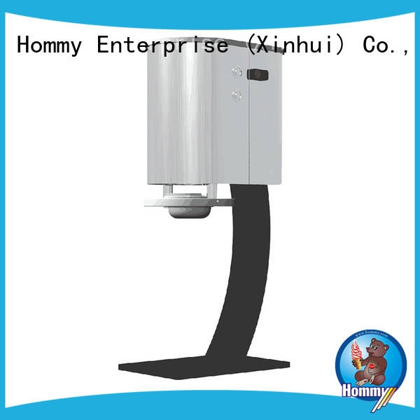 Hommy high quality blizzard machine for sale great efficient for frozen drink kiosks