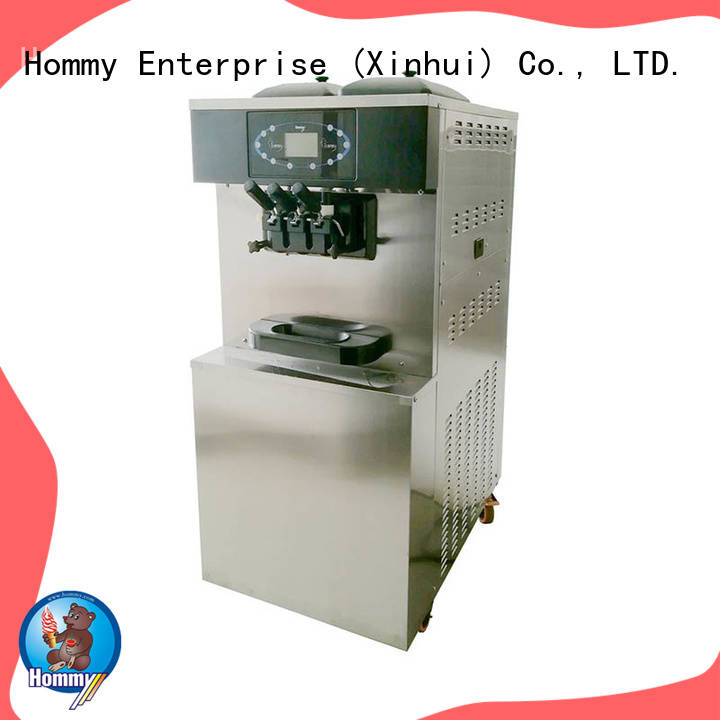 Hommy automatic professional ice cream machine manufacturer for ice cream shops