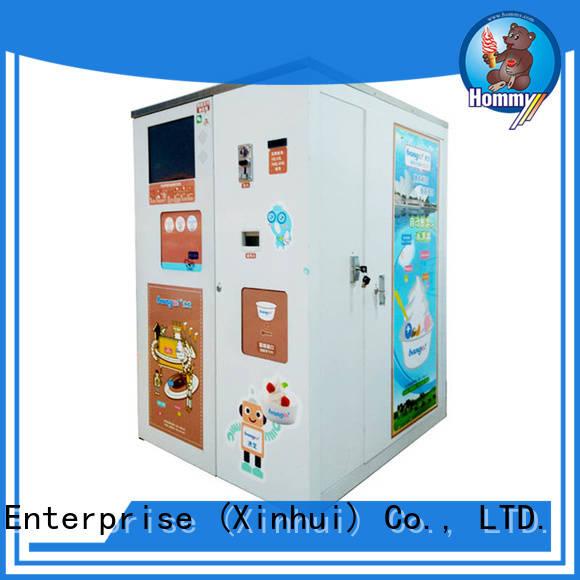 most popular ice cream vending machine top manufacturer for restaurants