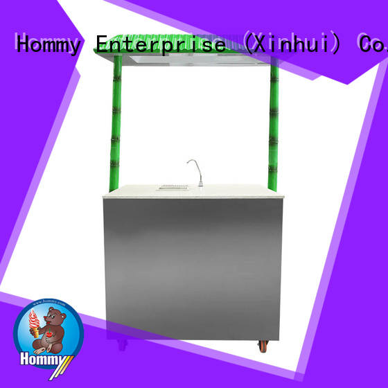 Hommy revolutionary sugarcane automatic juice machine wholesale for supermarket