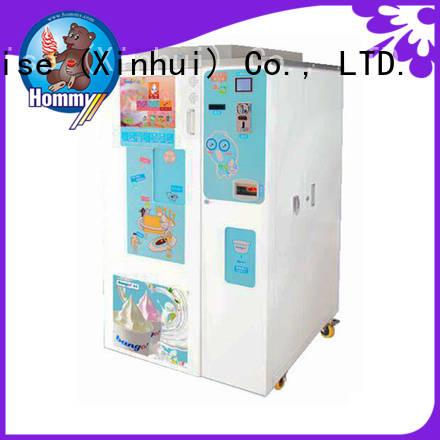 Hommy quality assurance custom vending machine supplier for hotels