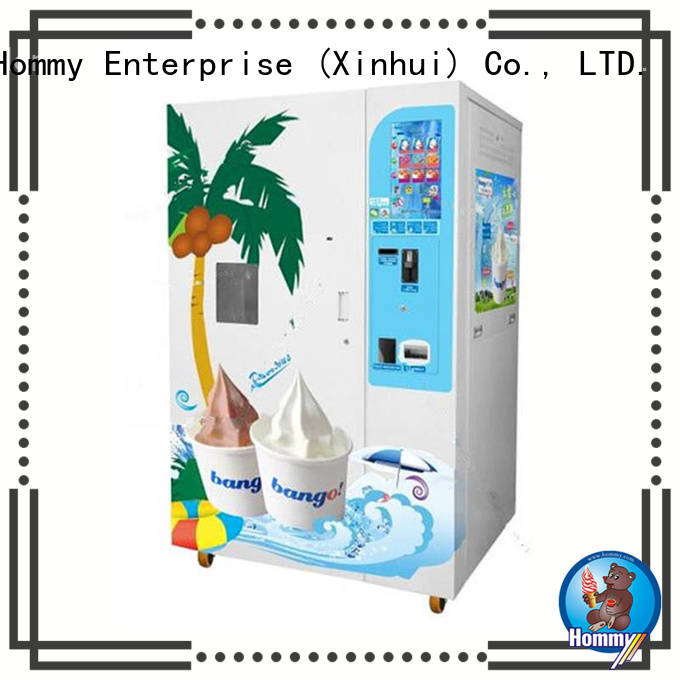 touch screen vending machine automatic for hotels Hommy