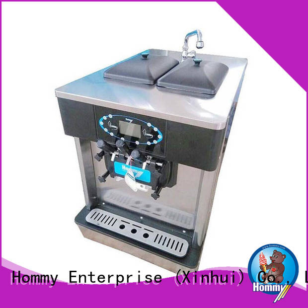 Hommy strict inspection ice cream machine price wholesale for ice cream shops