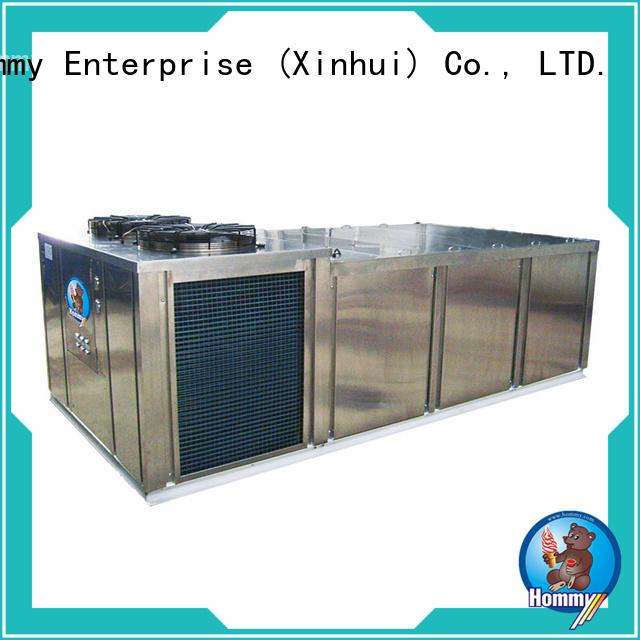 Hommy unique design ice block machine manufacturer for beverage stores