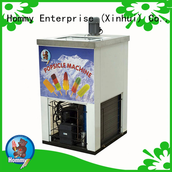 Hommy high quality popsicle ice cream machine manufacturer