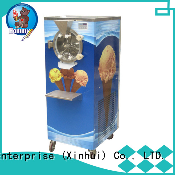 low noise hard ice cream machine low vibration for coffee shop Hommy
