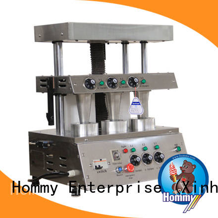 Hommy OEM ODM pizza cone maker with pre-cooling system for restaurants