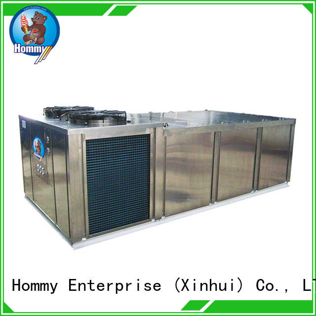 Hommy quality assurance industrial ice block making machine manufacturers eco-friendly for beverage stores