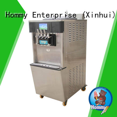 automatic ice cream vending machine manufacturers wholesale for beverage stores Hommy