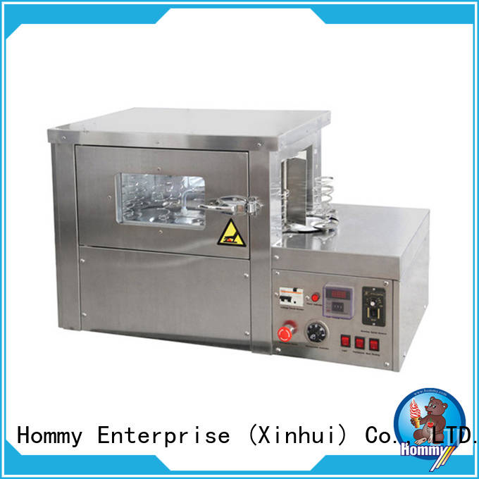 Hommy pizza cone oven electric with pre-cooling system for store