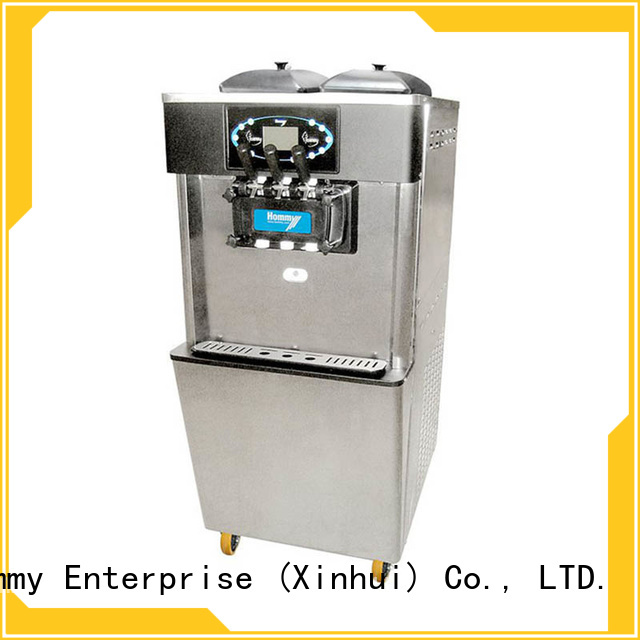 Hommy commercial ice cream machine for sale supplier for supermarket